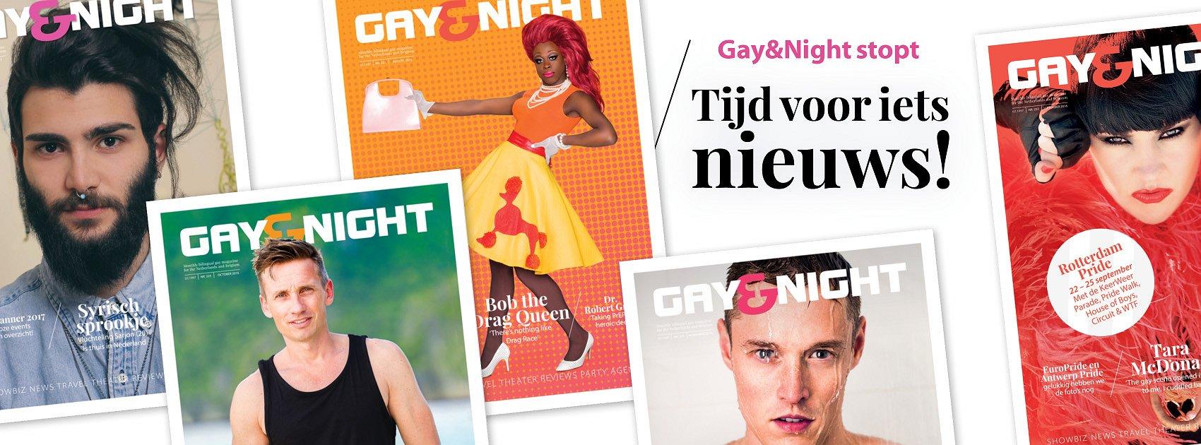 De mooiste momenten van Gay&Night Magazine
