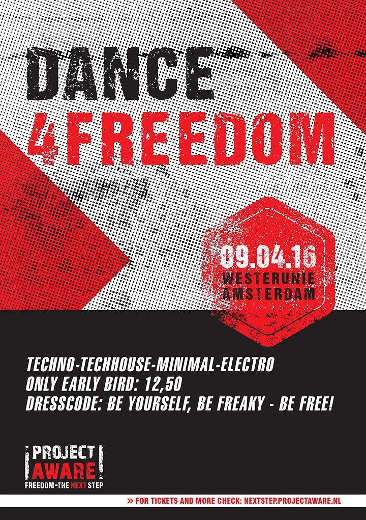 Uittip | Gratis dansen voor vrijheid
