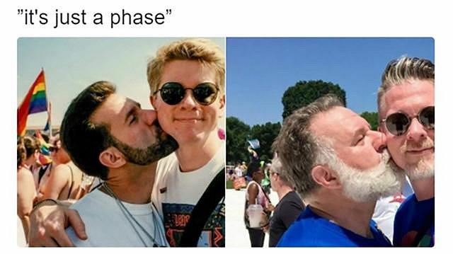 Dit zijn Nick en Kurt. Deze foto's gaan de hele wereld over.