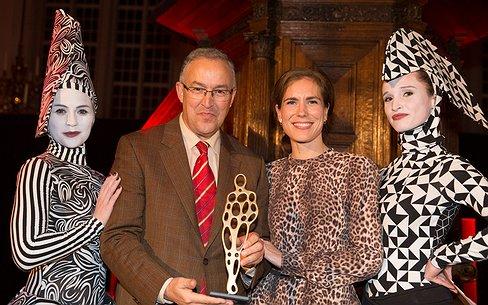 Ahmed Aboutaleb wint Winq People Award