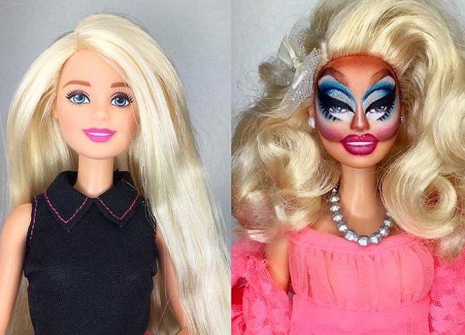 Dit is cool: Barbie omgetoverd in RuPaul's favoriete drag diva's