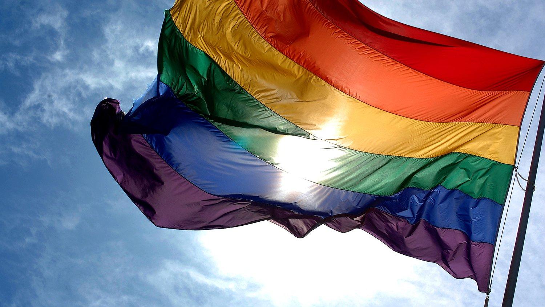 Bedenker regenboogvlag overleden