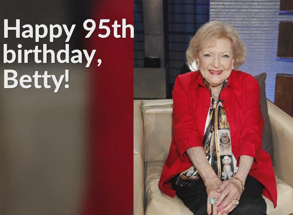 Betty White is 95 jaar en nog altijd de coolste van ons allemaal