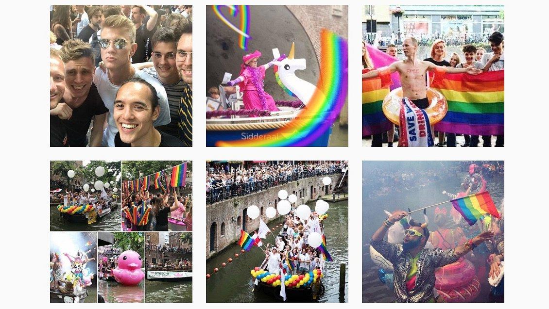 Foto's: zo leuk was de Utrecht Canal Pride