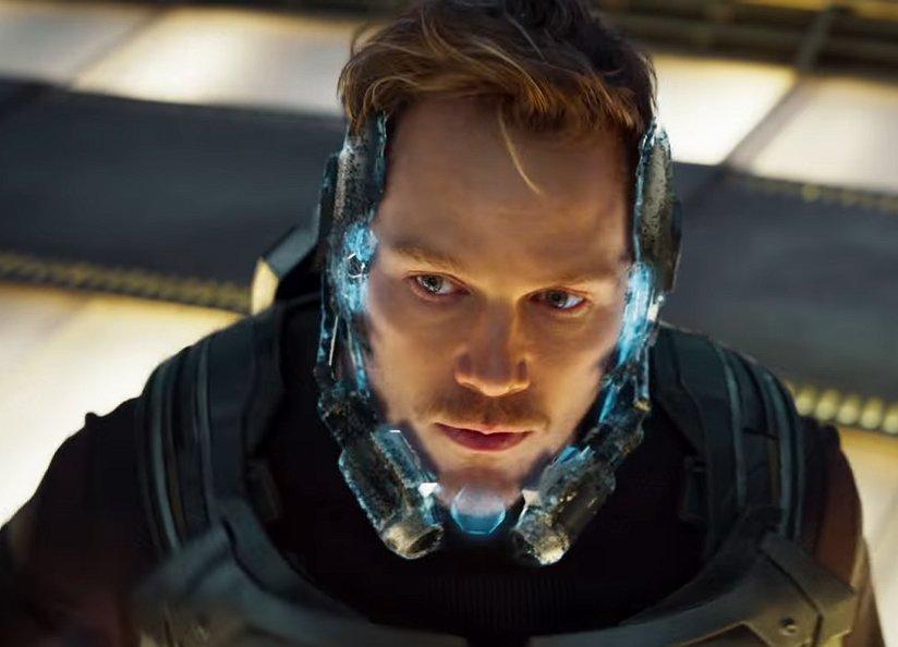 Kijken: Chris Pratt laat z'n spieren zien in Guardians of the Galaxy