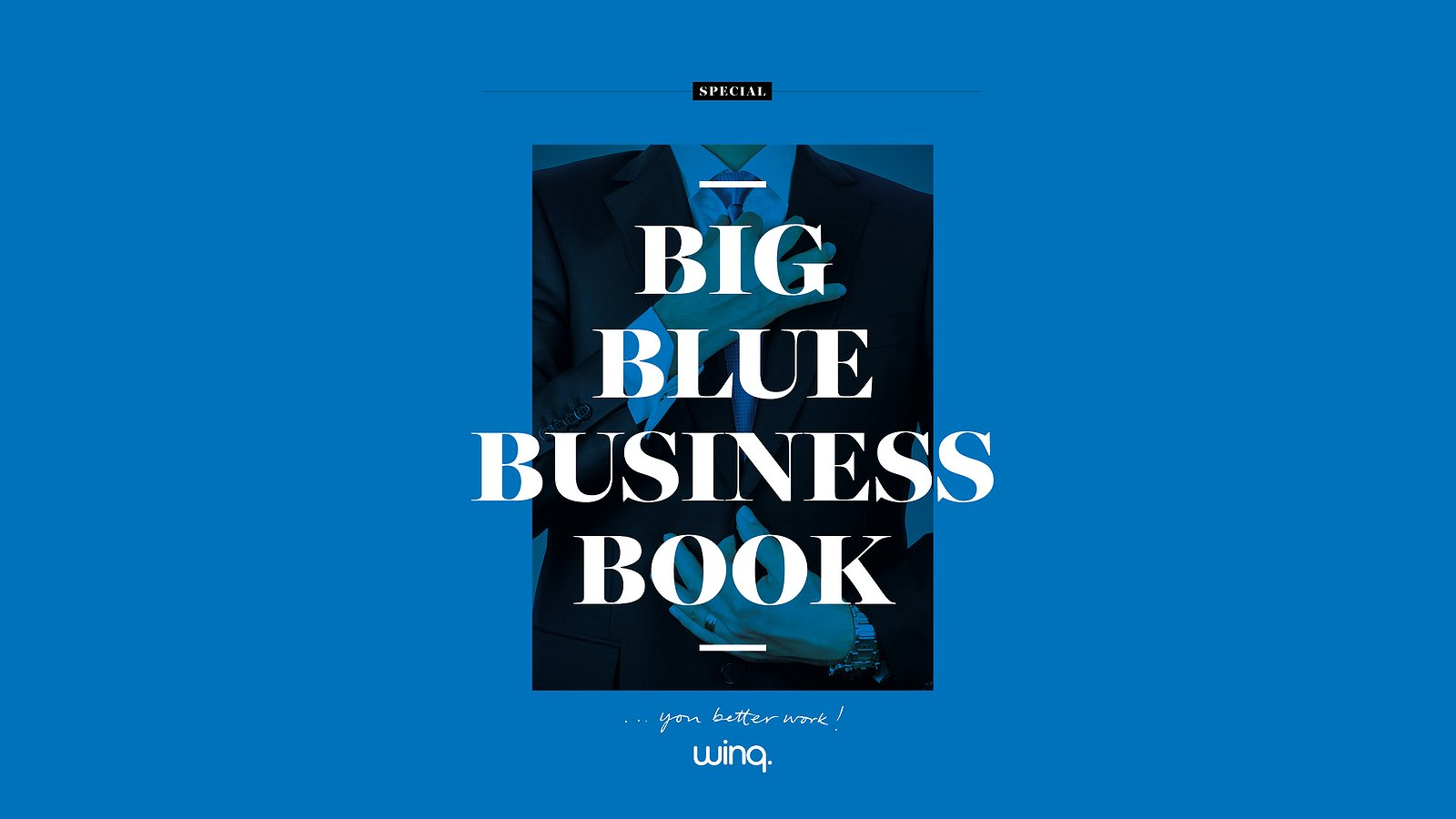 Big Blue Business Book - i.s.m. Philips