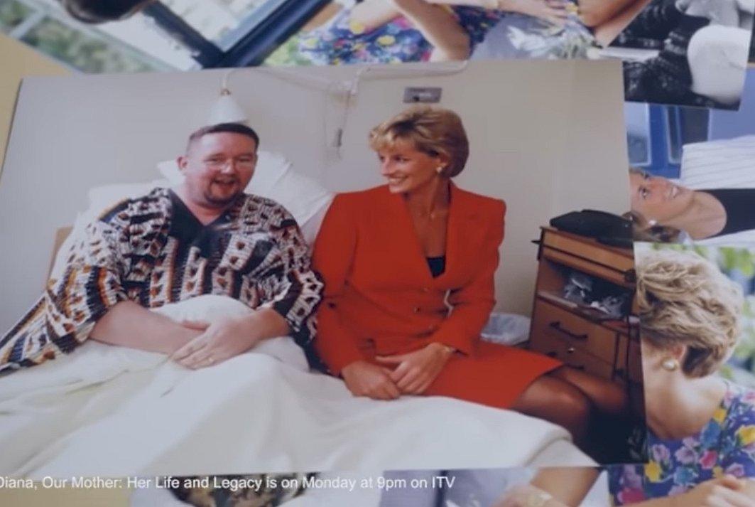 'Prinses Diana was een baken voor gays met hiv en aids'