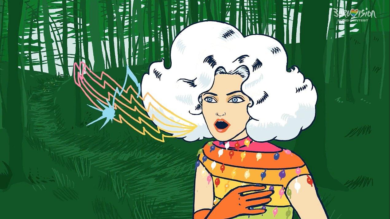 Dolly Bellefleur hertaalt het lied van O'G3NE: 'Stap Uit Je Schaduw'