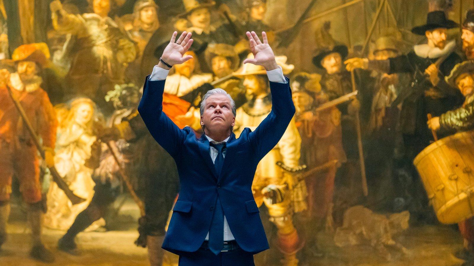 Dries Roelvink danst voor homo-emancipatie