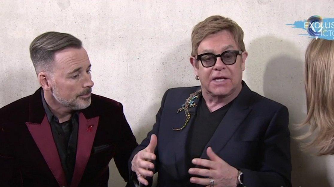 Elton John is niet verbaasd dat mensen denken dat alleen gays hiv kunnen krijgen