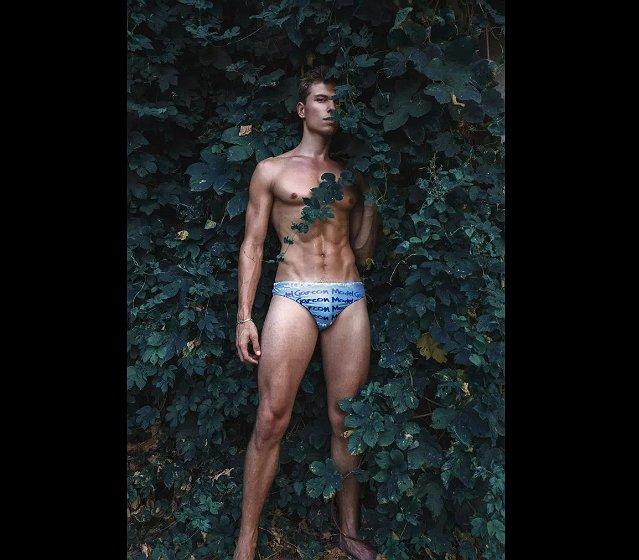 Foto's: Stef van Geleuken poseert voor Garçon Model