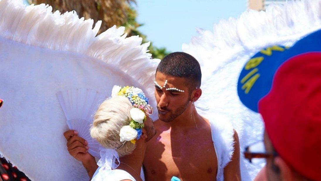Hete beelden: hunks, vrije vogels en activisten op de Tel Aviv Gay Pride