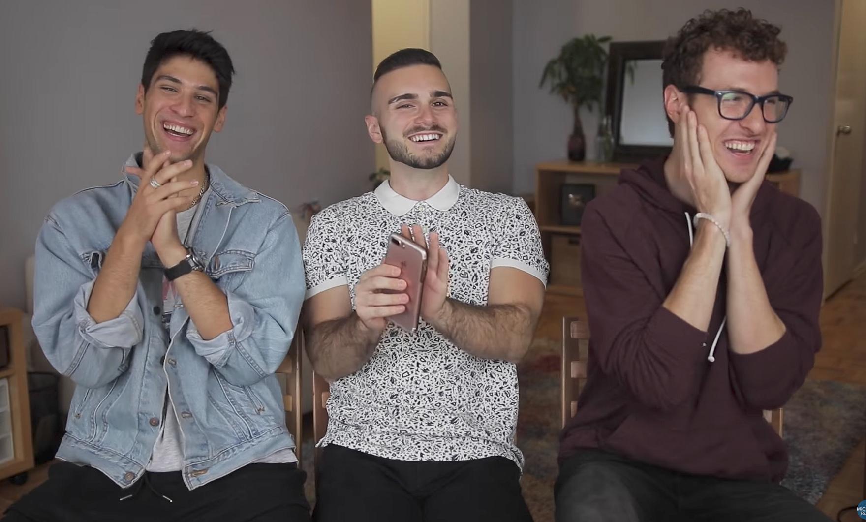 Videosnack | Michael mag een kijkje nemen in de bizarre Grindr-gesprekken van zijn vrienden