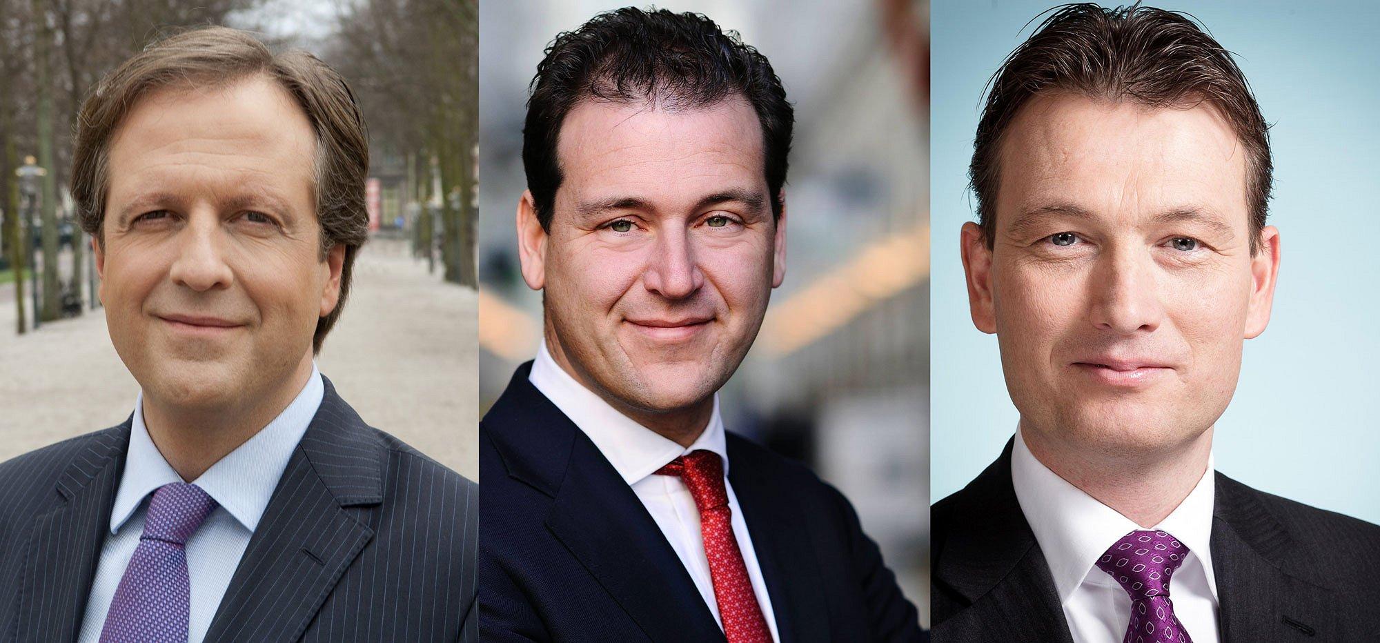Asscher, Pechtold en Zijlstra bij COC's Verkiezingsdebat 2017