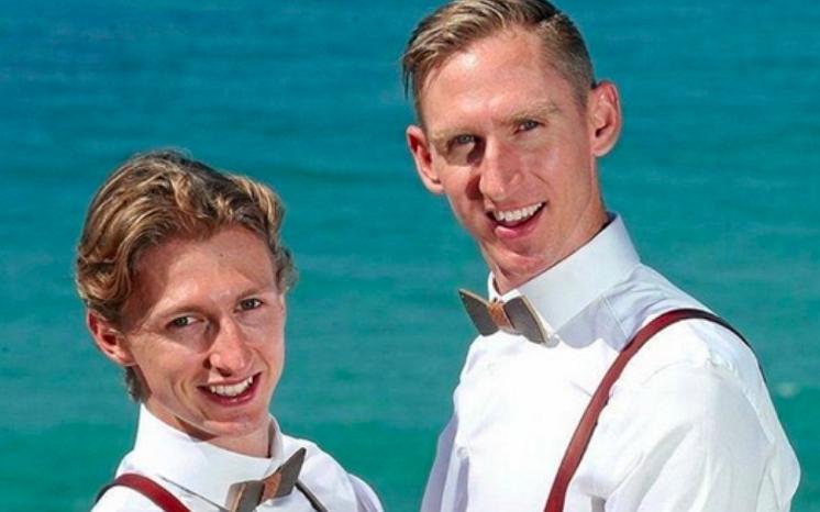 Yes, I do! De eerste Australische mannen zijn met elkaar getrouwd