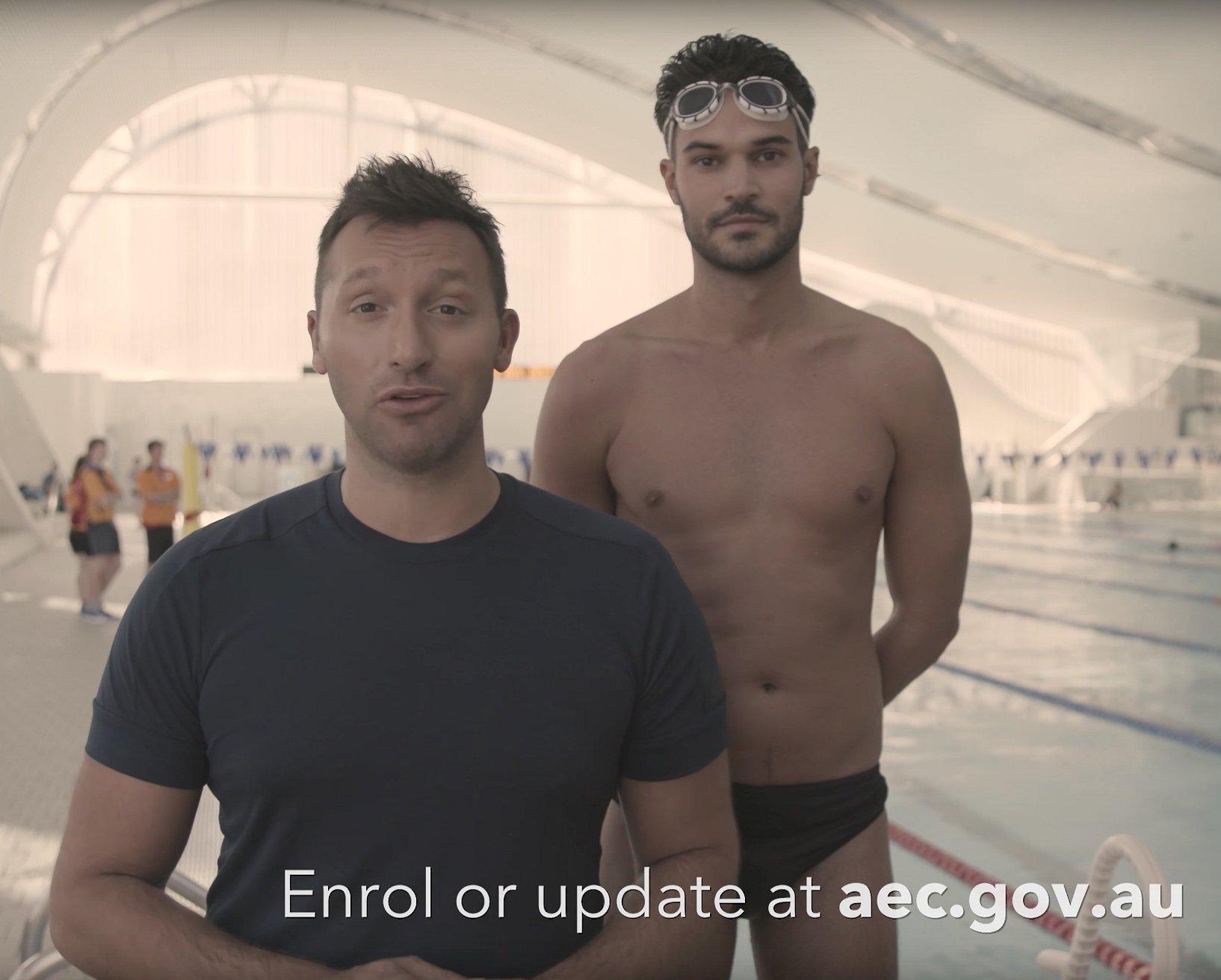Zwemmer Ian Thorpe: tuurlijk moeten homo's in Australië kunnen trouwen