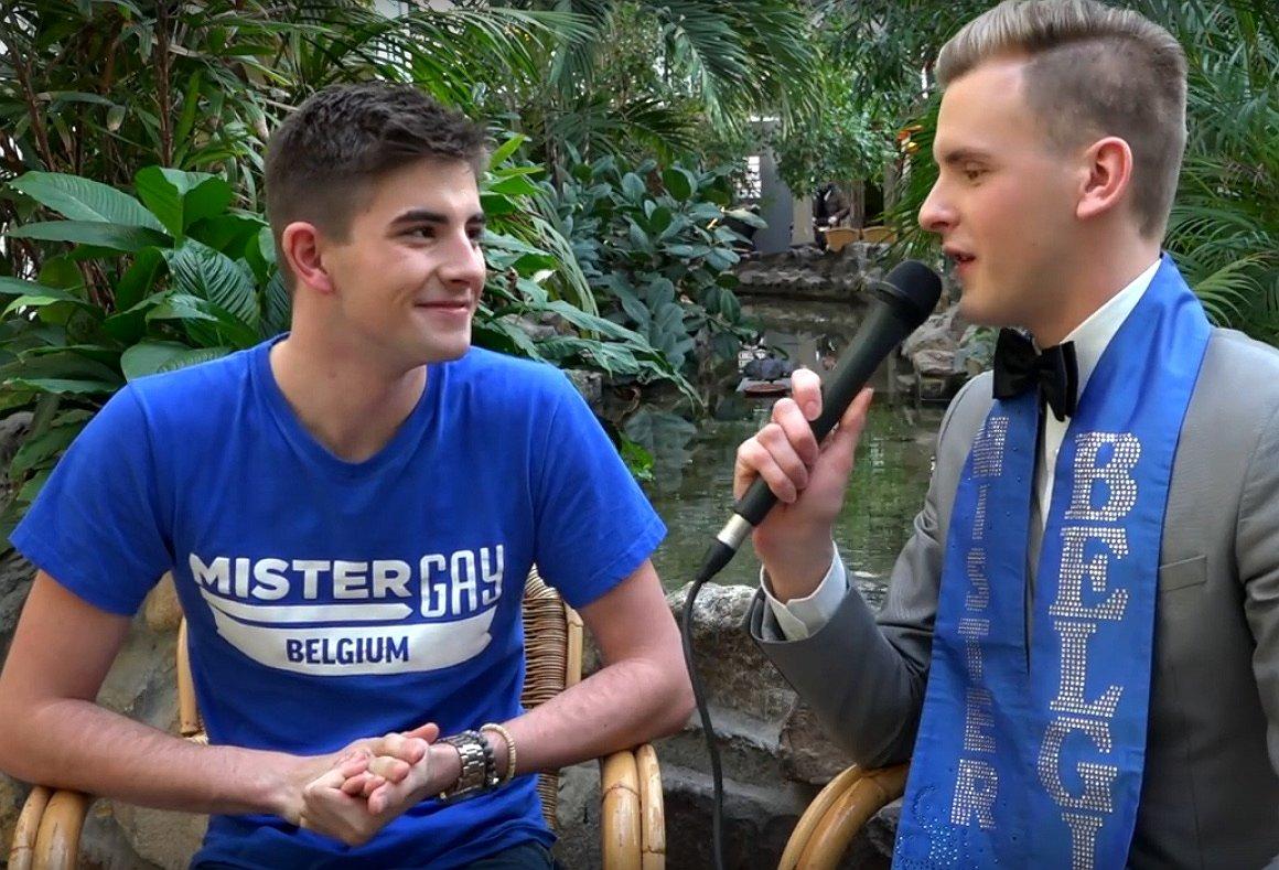 Dit is de nieuwe Mister Gay Belgium: de 18-jarige Jaimie Deblieck
