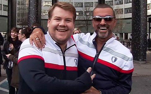 James Corden praat over zijn vriendschap met George Michael
