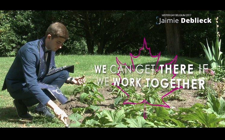 Videosnack | Mister Gay België Jamie Deblieck vertelt over pesten en autisme