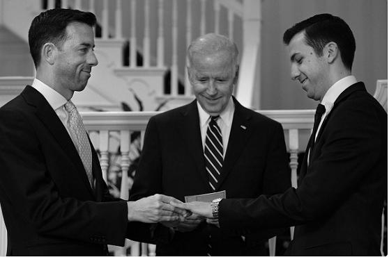 Vicepresident Biden huwt personeelsleden
