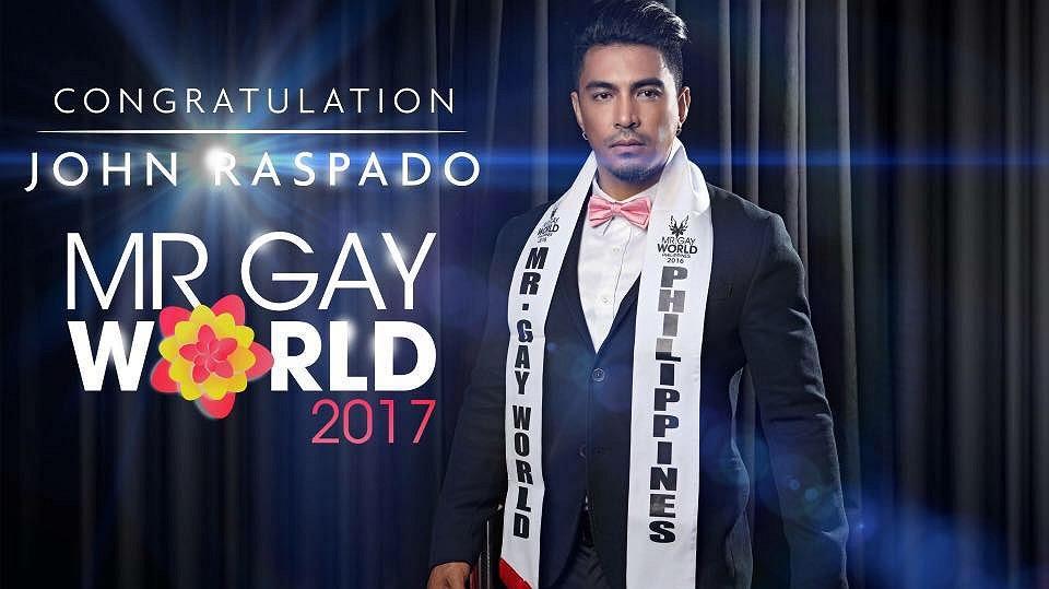 Dit is de nieuwe Mr. Gay World