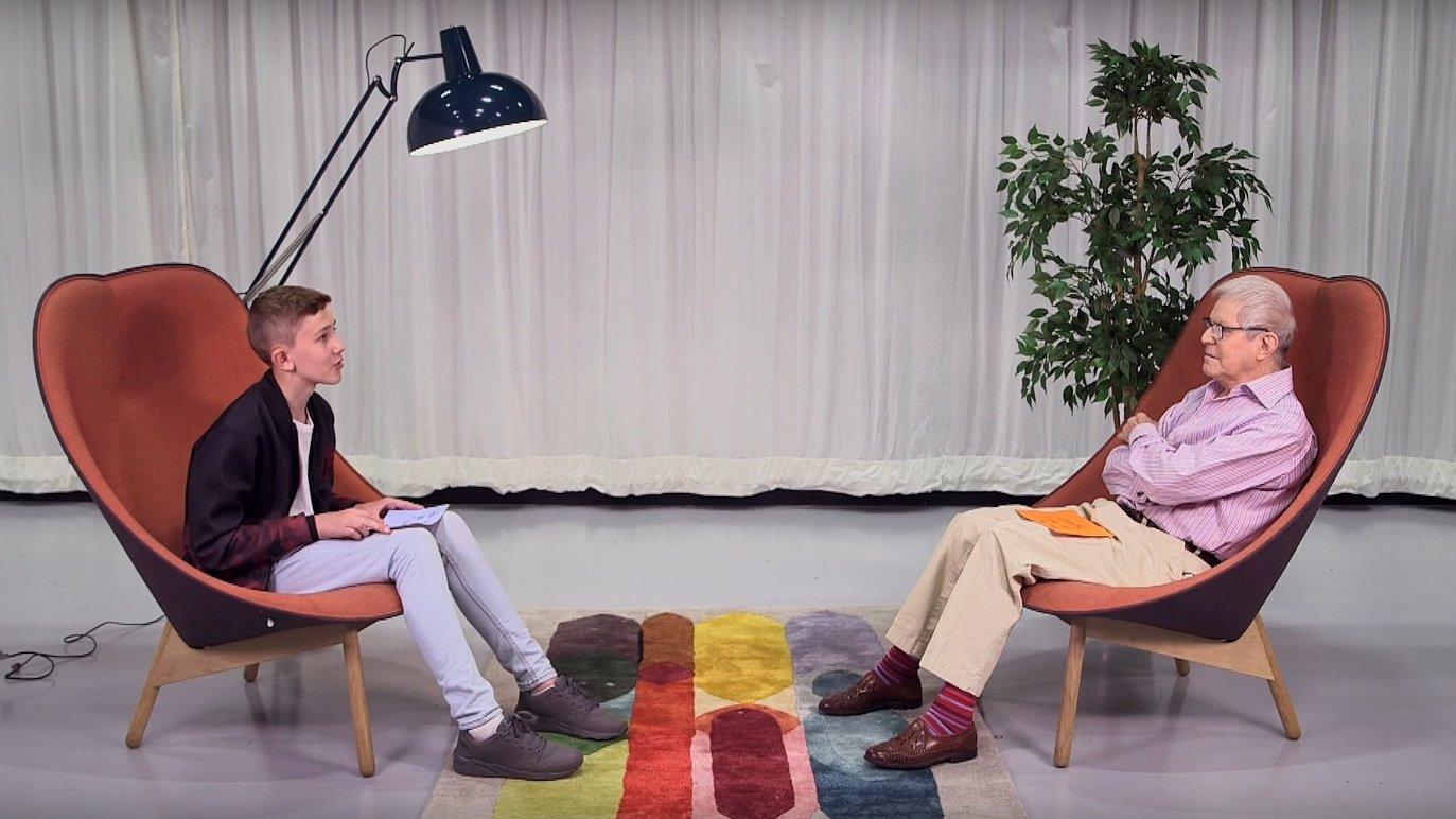 Mooi dit: 78-jarige en 13-jarige praten samen over gay zijn