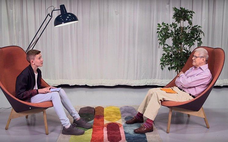 Videosnack | Deze 13-jarige jongen praat met een 65 jaar oudere man over homoseksualiteit