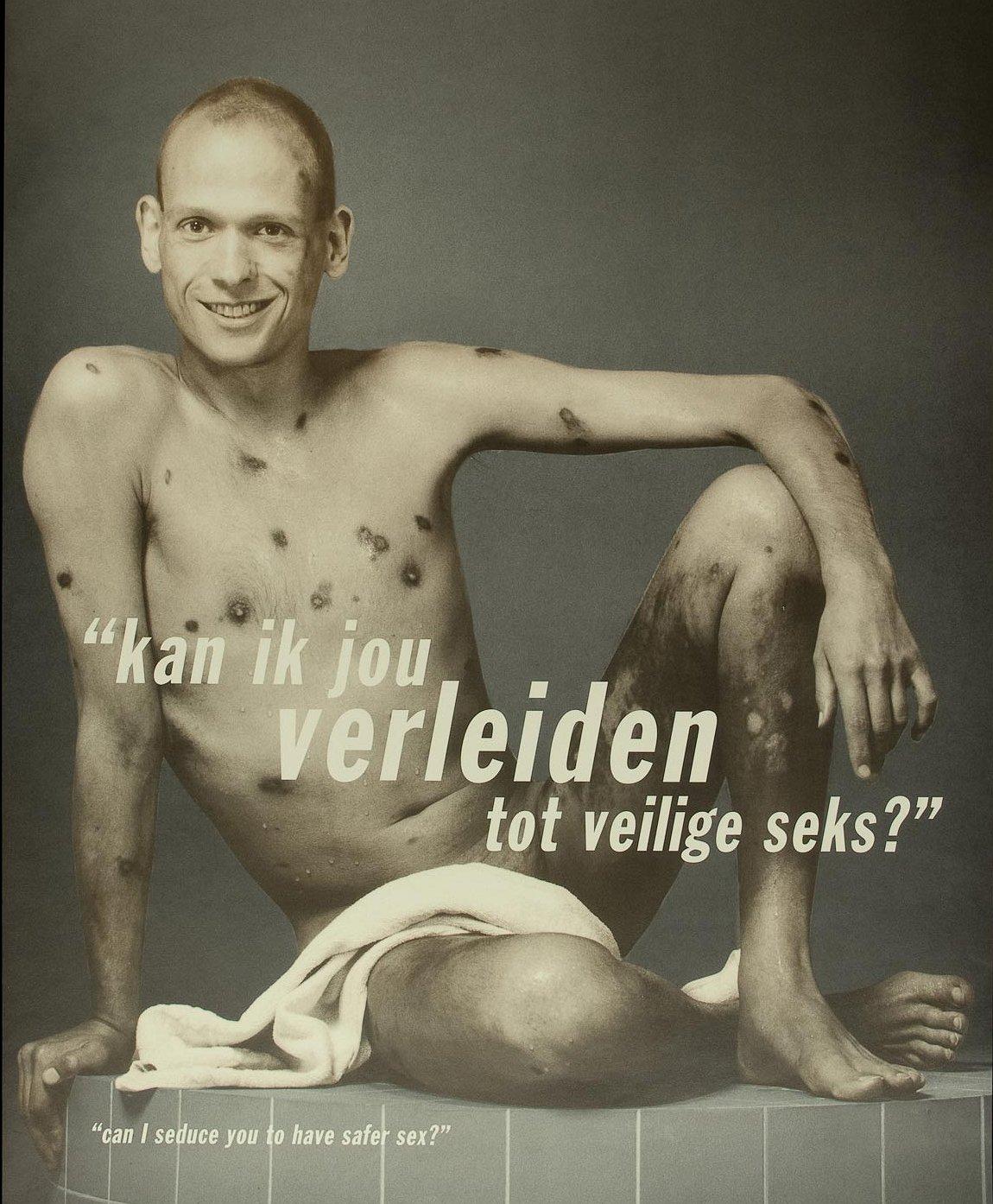 Homo's met hiv reageren op smakeloze en spraakmakende hiv-campagnes