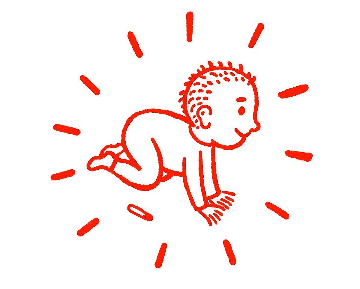 Voor alle Keith Haring-fans: hier zijn bio in stripvorm