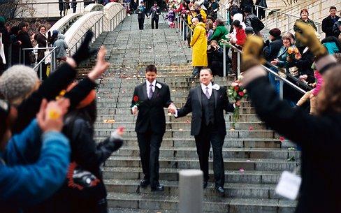 Ook in Gibraltar kunnen homo's vanaf nu trouwen