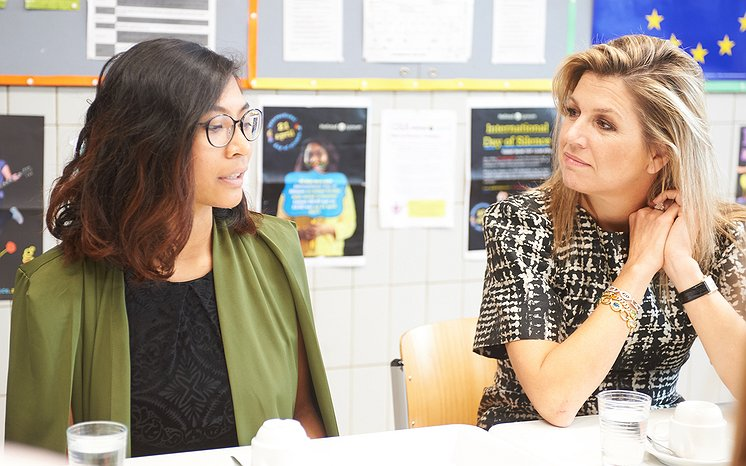 Reportage | Koningin Máxima leerde deze week van alles bij over seksuele diversiteit
