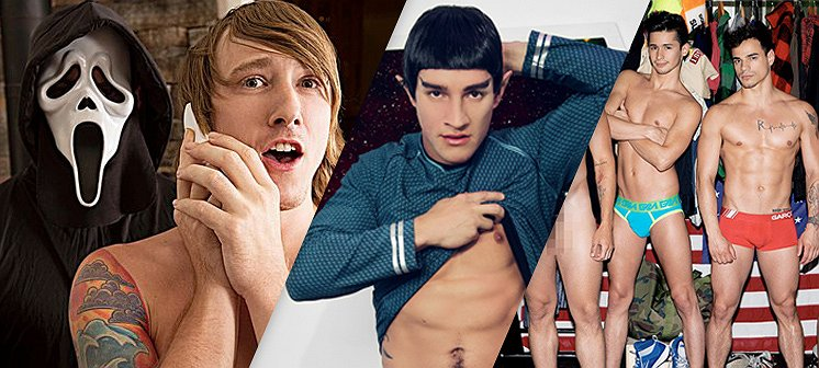 Daar gaat je jeugd! Pornoparodieën van Star Trek, Scream en One Direction