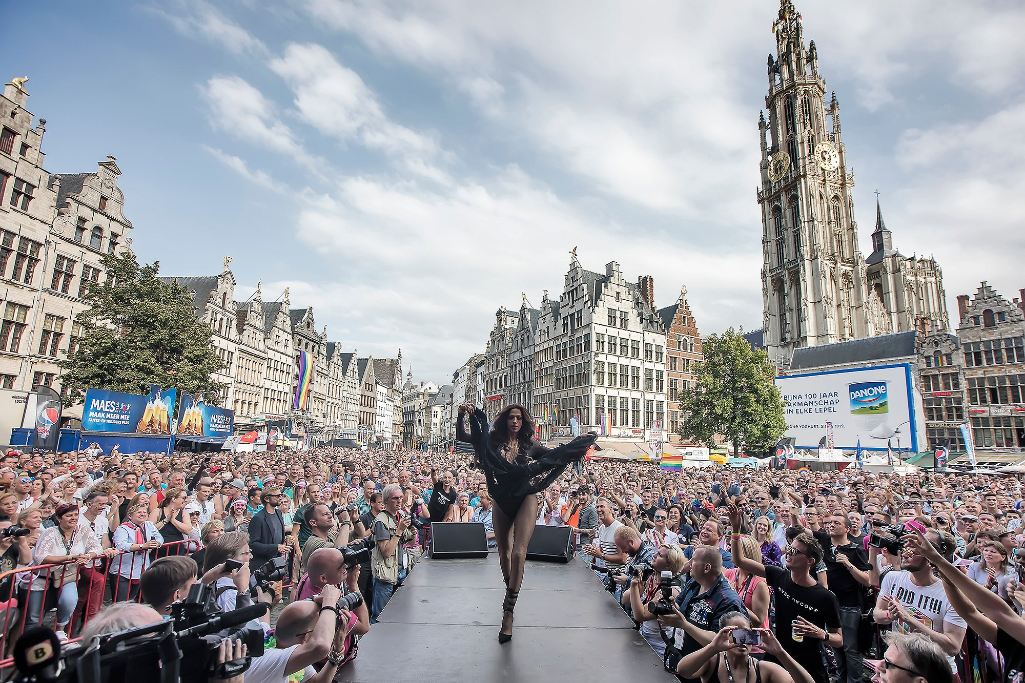 Op naar de volgende: Antwerpen viert dit weekend 10-jarig jubileum Pride