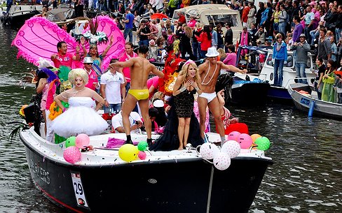 Andere route voor Canal Parade Amsterdam