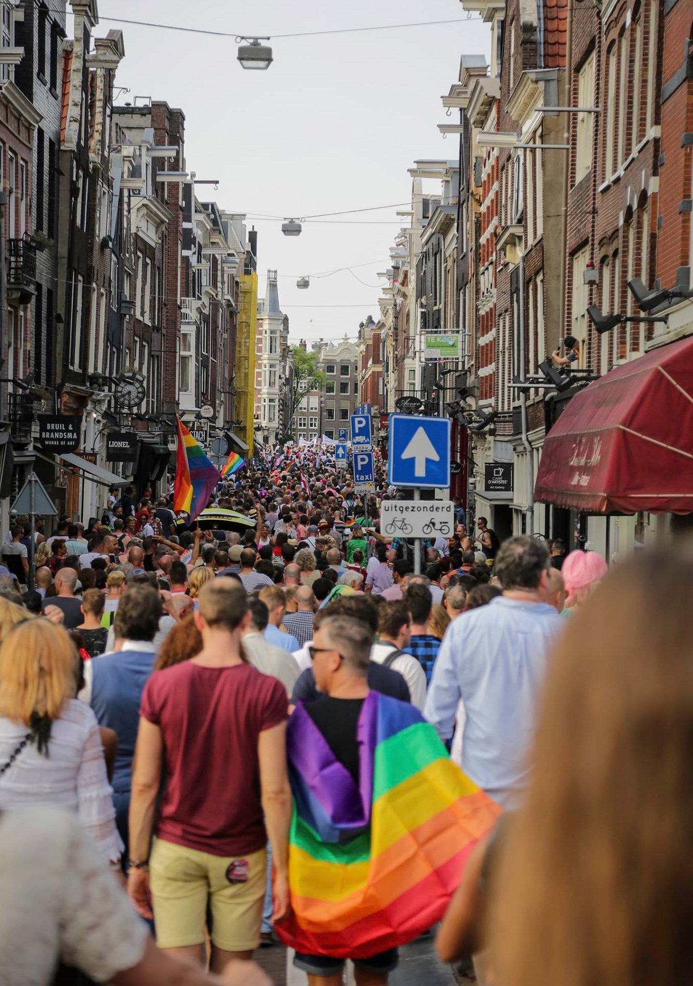 Pride Walk Amsterdam start crowdfunding