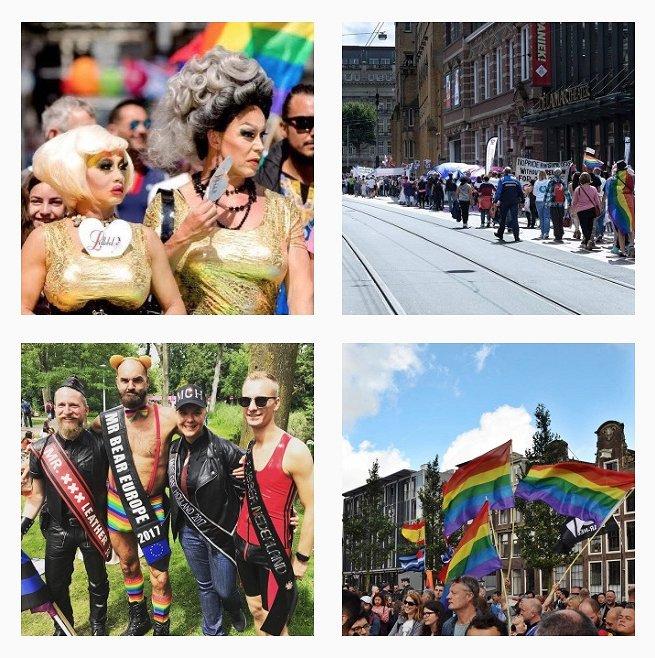 Foto's: zo zag de Pride Walk in Amsterdam eruit
