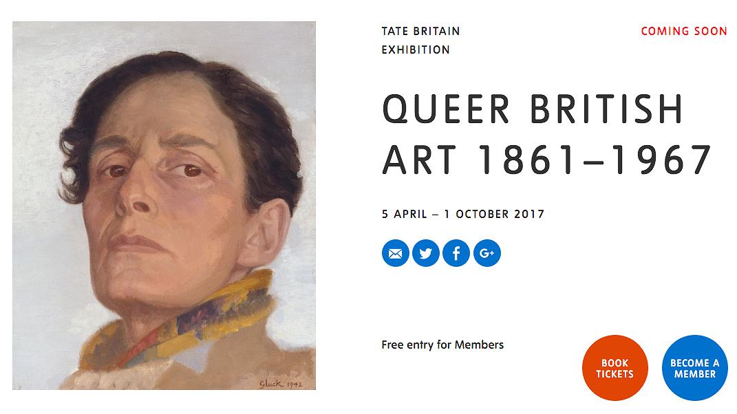 Expositie 'Queer British Art 1861 - 1967' opent in Londen