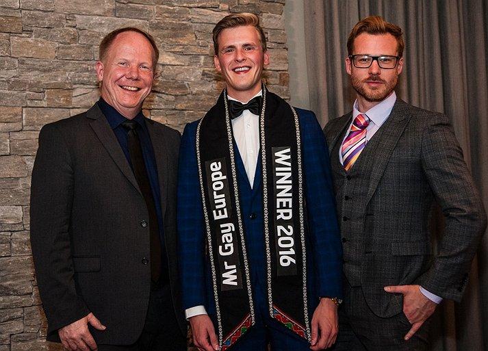 Belgische Raf van Puymbroeck wint Mister Gay Europe