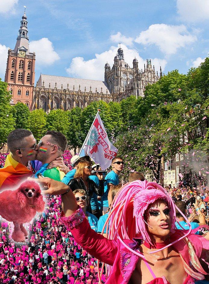 Het enige Bossche gaycafé valt buiten de boot tijdens Roze Zaterdag 2017
