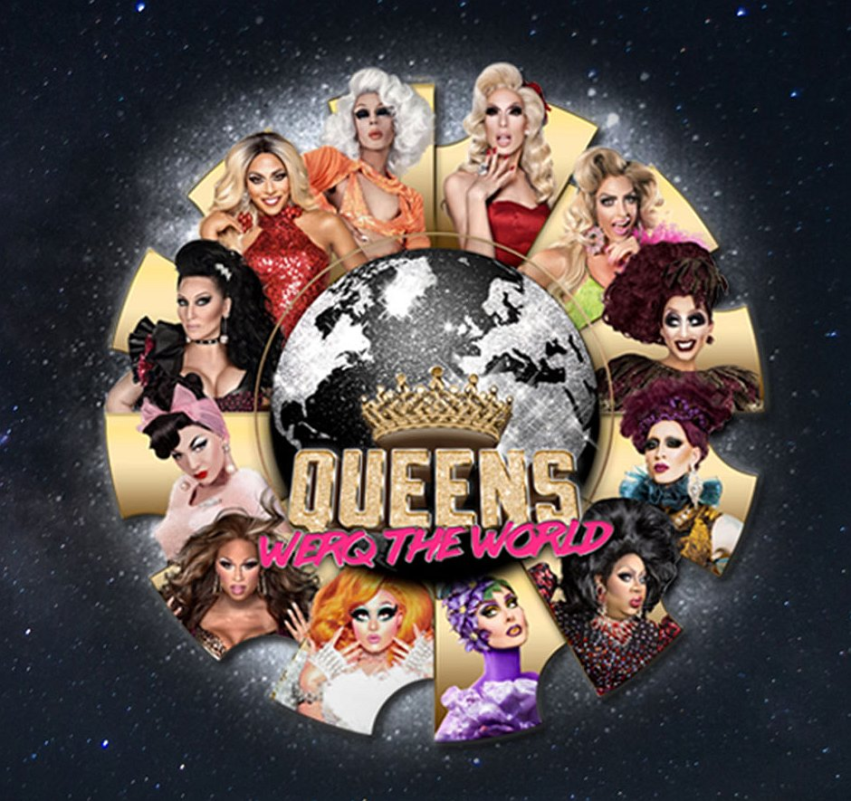 You Bettah Werq | RuPauls queens komen naar Antwerpen!
