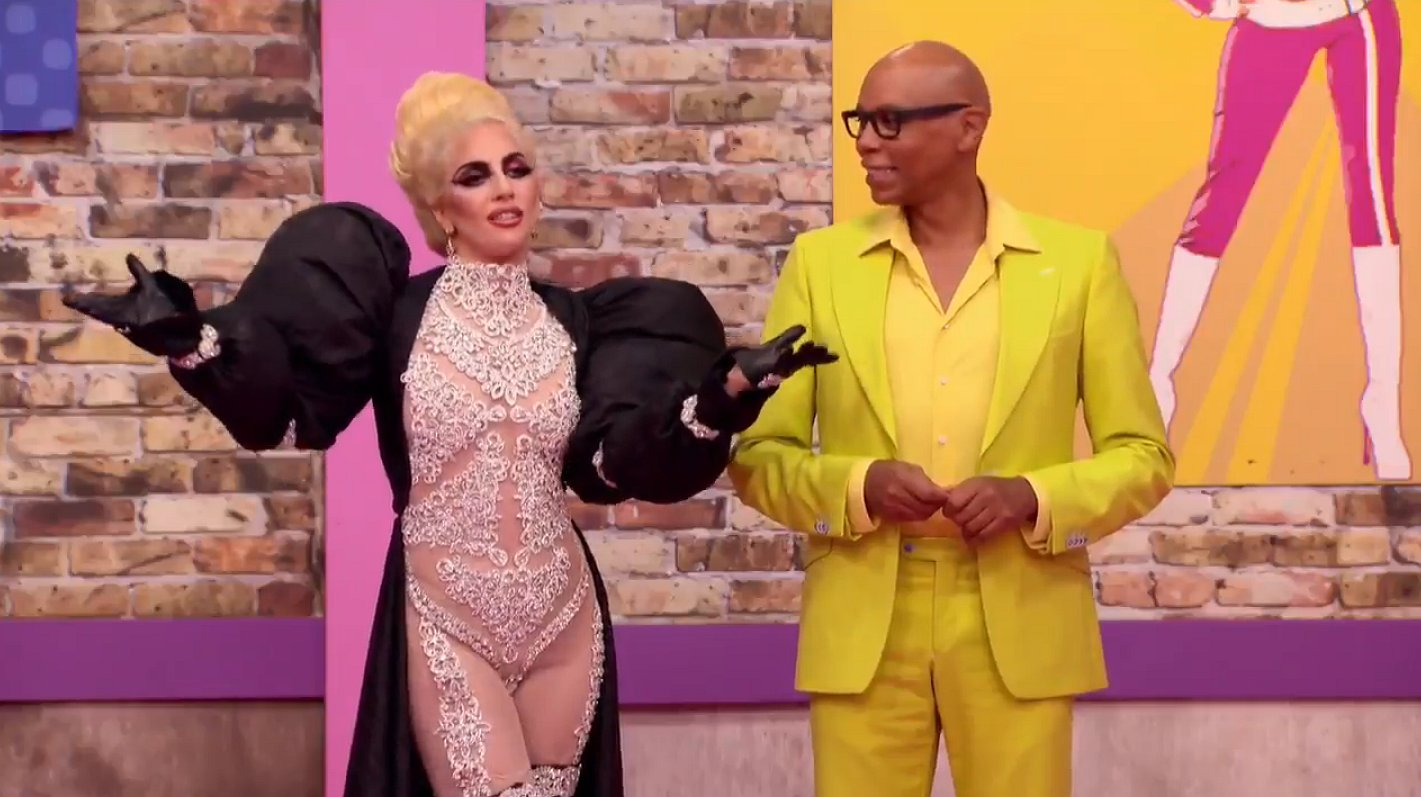 Verrassing: Lady Gaga in RuPaul's Drag Race