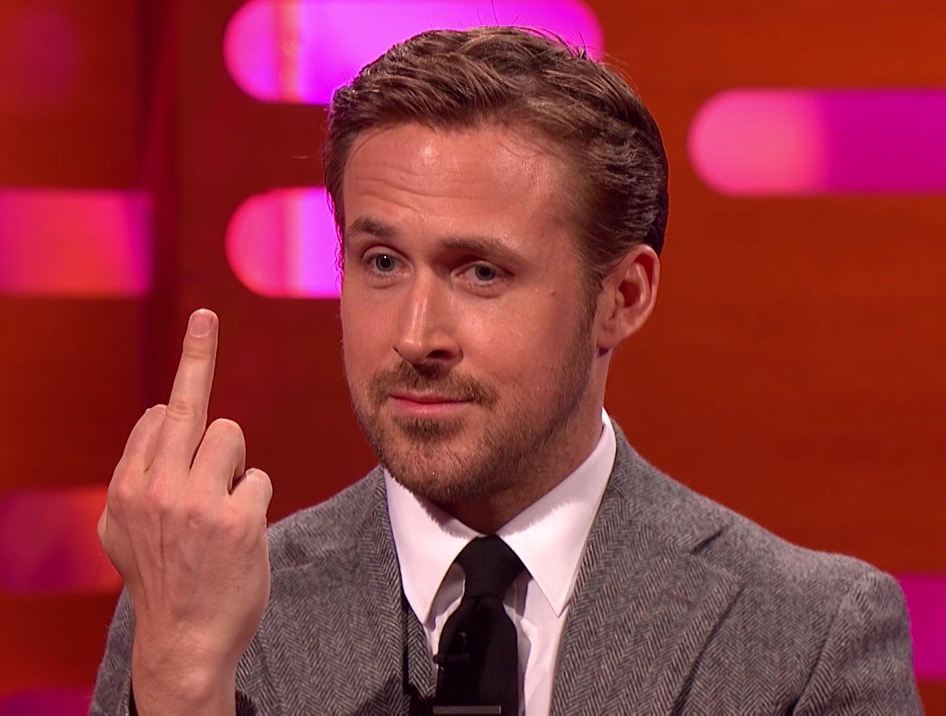 Video: Graham Norton zet Ryan Gosling voor schut