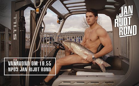 Kijktip | Mannen uit de kleren voor erotische viskalender