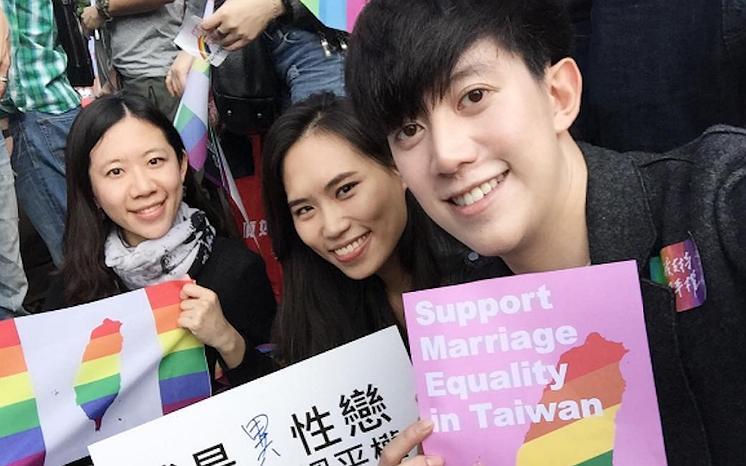 250.000 Taiwanezen de straat op vóór het 'homohuwelijk'
