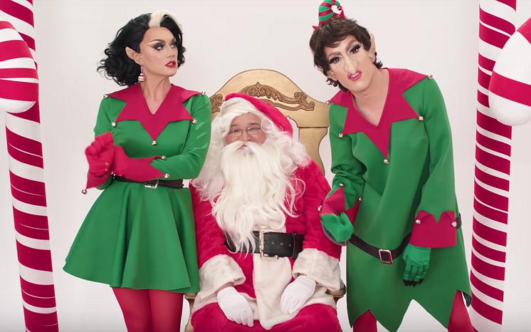 Videosnack | De beste kersthits van RuPaul's Christmas Queens
