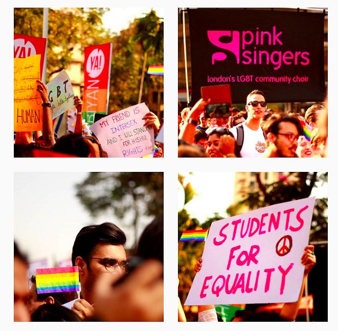 Mumbai Pride: de mooiste foto's