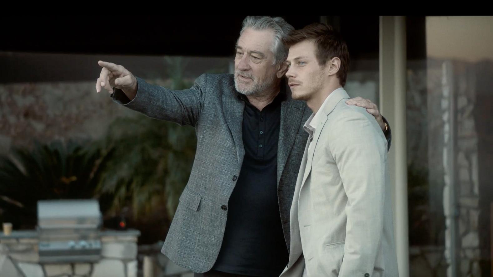 Robert De Niro en McCaul Lombardi het nieuwe gezicht van Ermenegildo Zegna