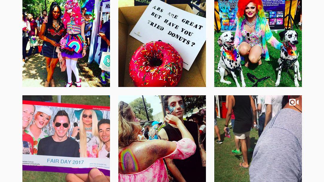 Foto's: Mardi Gras Fair Day in Australië