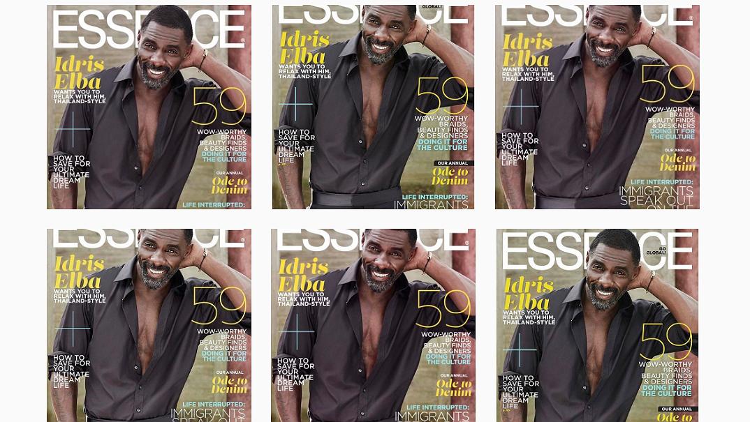 Heet op Instagram: hunky daddy Idris Elba
