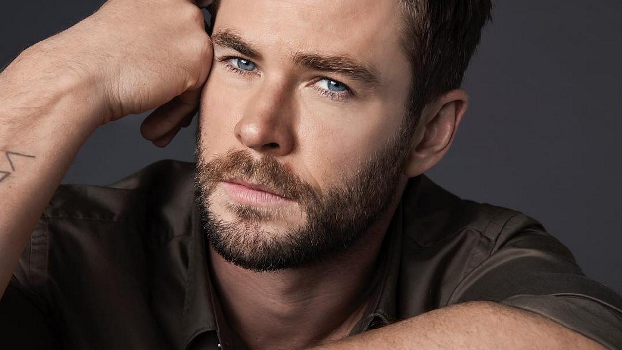 Hot hot hot op Instagram: acteur Chris Hemsworth